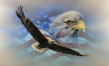 Patriotic Eagle Wallpapers Free