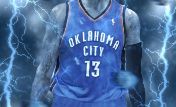 Paul George Oklahoma City Thunder Wallpapers