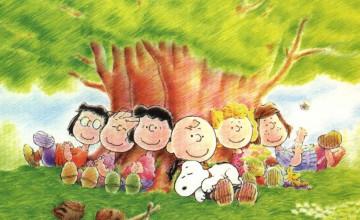 Peanuts Gang Wallpaper