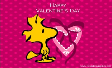 Peanuts Valentine\'s Day Wallpaper