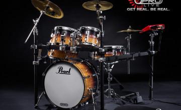 Pearl Drums Wallpaper