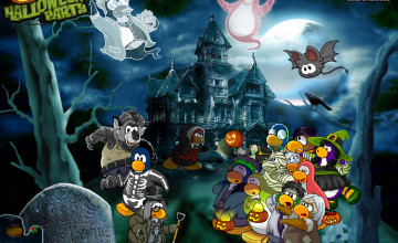 Penguin Wallpaper Halloween