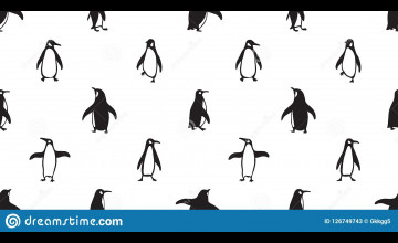 Penguin Wallpaper Pattern