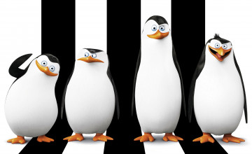 Penguins Madagascar Wallpaper