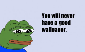 Pepe Wallpaper Meme