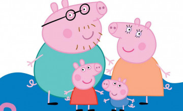 Peppa Pig HD Wallpaper