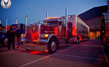 Peterbilt Show Trucks Wallpapers