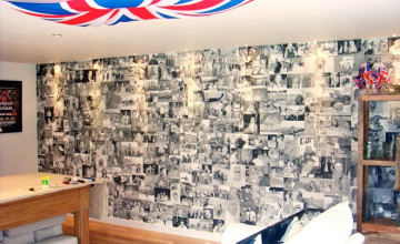 Photo Collage Wallpaper for Walls