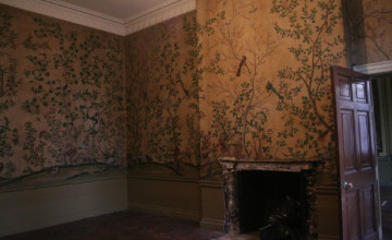 Pictures of Wallpapered Rooms