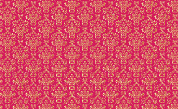 Pink and Gold Damask Wallpaper
