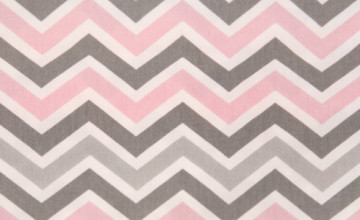 Pink and Grey Chevron Wallpaper