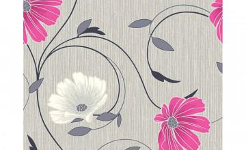 Pink and Grey Wallpaper
