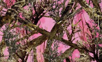 Pink Camo Wallpaper for Bedrooms