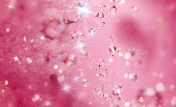 Pink Glitter iPhone Wallpaper