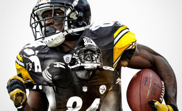 Pittsburgh Steelers Antonio Brown Wallpaper