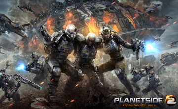 PlanetSide Wallpaper