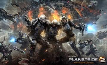 PlanetSide Wallpaper