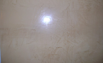 Plaster Over Wallpaper