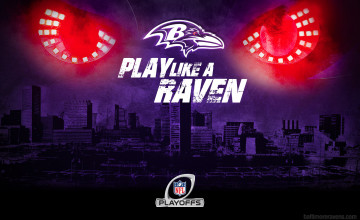 Play Like A Raven Wallpaper