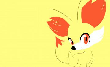 Pokemon Fennekin Wallpaper