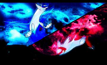 Pokemon Latios and Latias Wallpaper