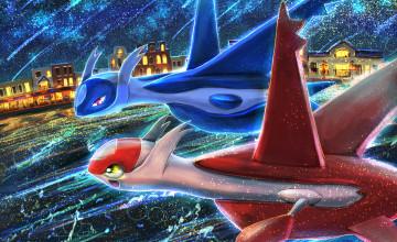Pokemon Latios And Latias Wallpapers
