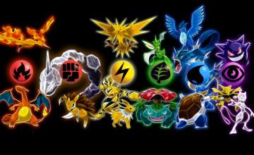 Pokemon Legendary Wallpaper