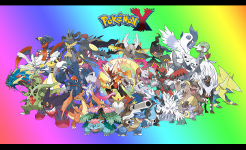 Pokemon Mega Evolutions Wallpaper