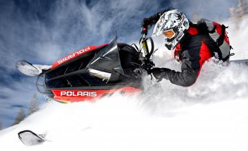 Polaris Snowmobile Wallpaper