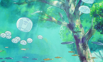 Ponyo Background