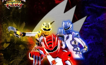 Power Rangers Jungle Fury Wallpaper