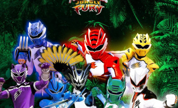 Power Rangers Jungle Fury Wallpapers