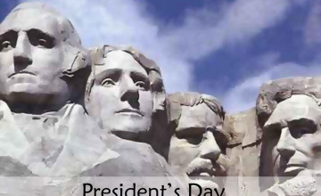 President\'s Day Wallpaper for Computer