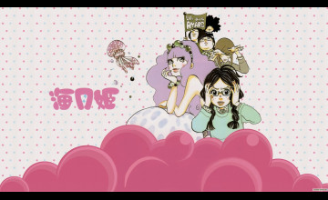 Princess Jellyfish Wallpaper