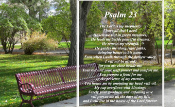 Psalm 23 Wallpaper Desktop