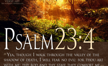 Psalm 23 Wallpaper