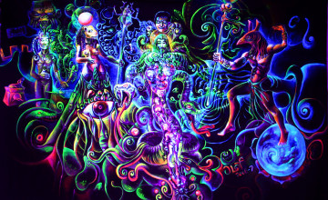 Psychedelic Art Wallpaper HD