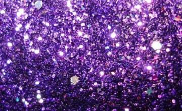 Purple Glitter Wallpaper