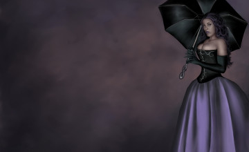 Purple Goth Wallpapers