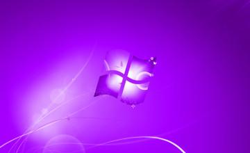 Purple Windows Wallpaper