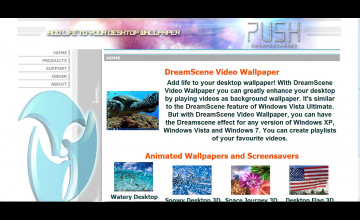Push Entertainment DreamScene Video Wallpaper