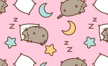 Pusheen Background