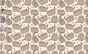 Pusheen Desktop Wallpaper