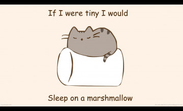 Pusheen Wallpaper for Kindle