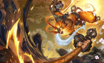 Radiant Wukong Wallpaper