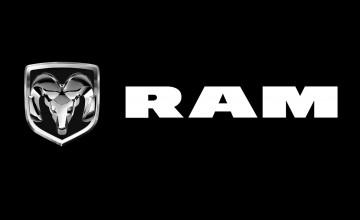 Ram Logo Wallpaper