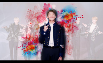 Rap Monster BTS Wallpapers
