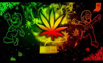 Rasta Weed Wallpaper