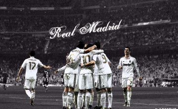 Real Madrid Celebrating Wallpapers HD 2017