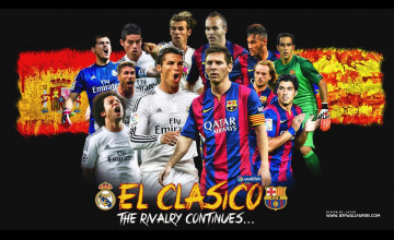 Real Madrid Vs Barcelona Wallpaper